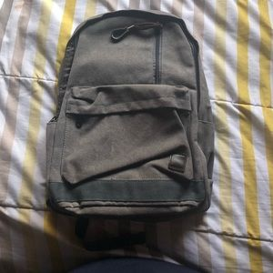 Grey Unisex Backpack